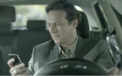 Una de cada dos denuncias por distracción fue por el uso del móvil